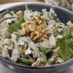 bluecheese, walnuts, spinach