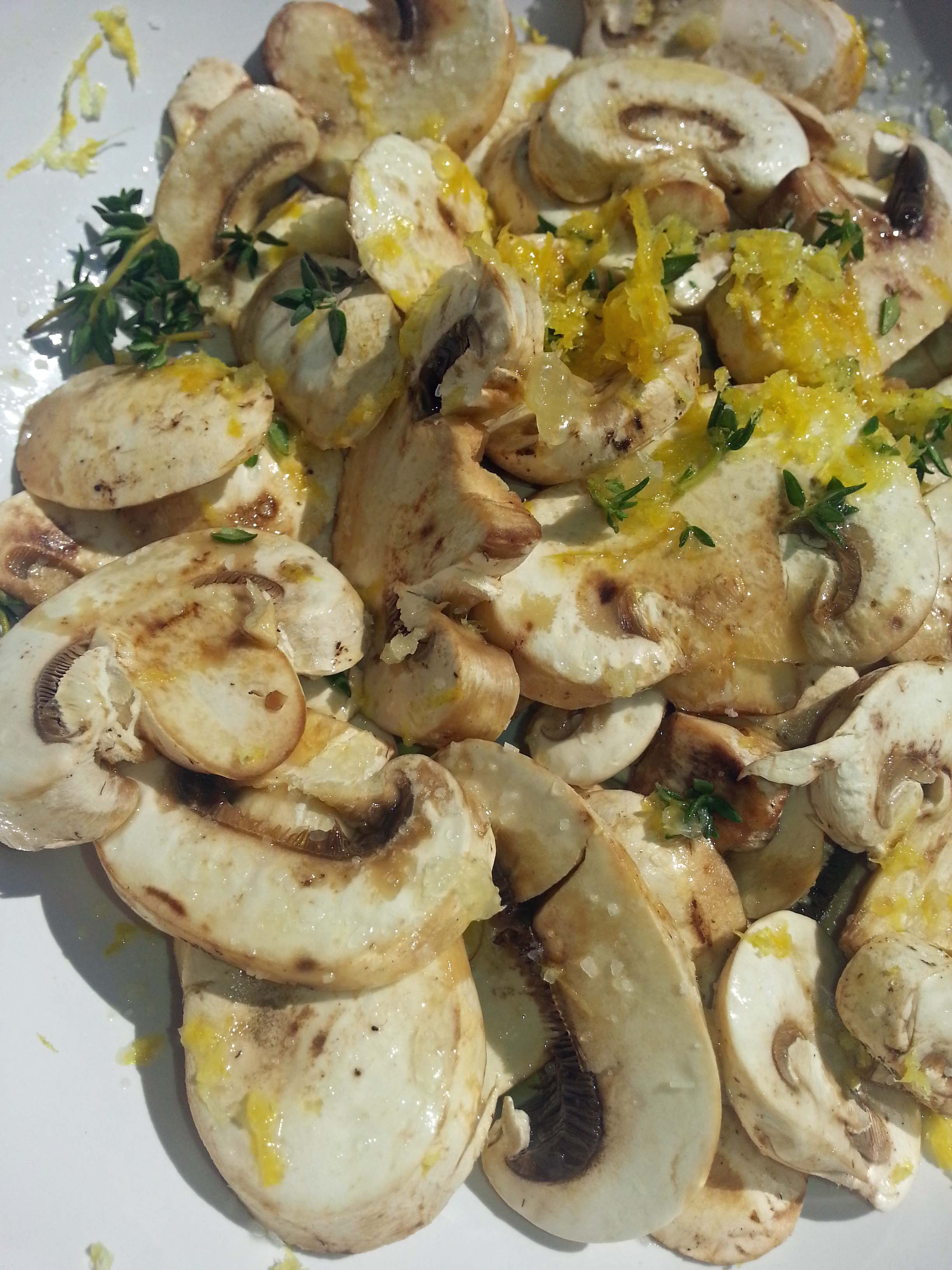 Pasta with Thyme Mushrooms | pasta recipes, news, and more | Al Dente ...