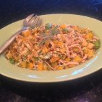 Pasta with Squash, Sage and Walnuts