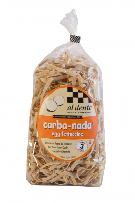 Carba-Nada Egg Fettuccine Bag