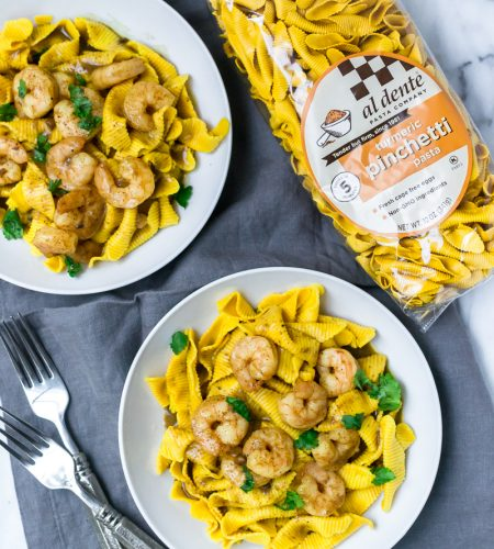 coconut lime curry shrimp over turmeric pasta _ Appetites Anonymous-5